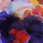 Glow, Öl und Pigment auf Mischgewebe, 165,3 x 155,3 cm (2015)