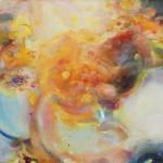 o.T. (Aris), Öl auf Mischgewebe, 152,2 × 160,4 cm (2015)