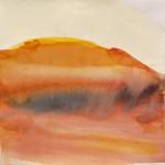 o.T., Aquarell auf Papier, 40 × 40 cm (2013)