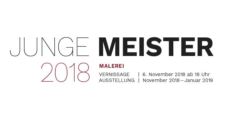 Vernissage und Ausstellung JUNGE MEISTER 2018